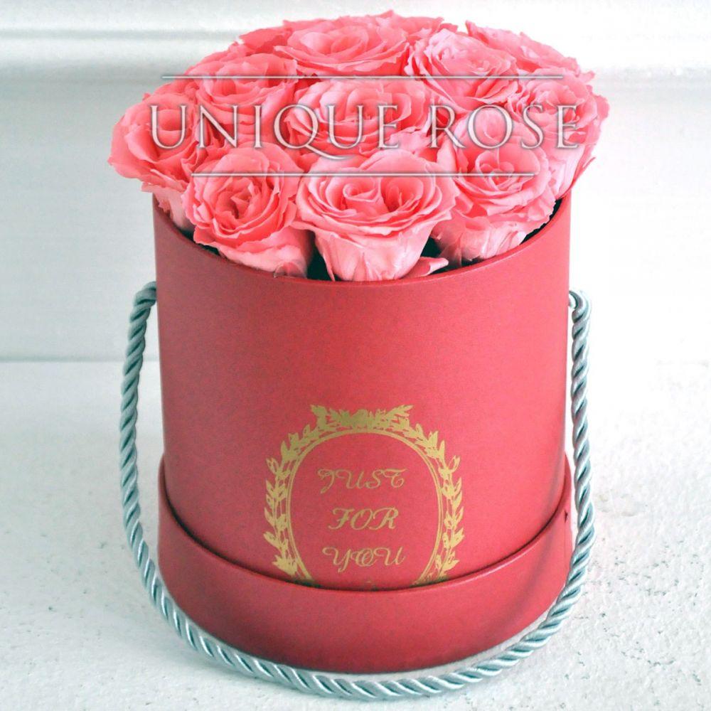 Букеты из вечных роз купить в Москве
